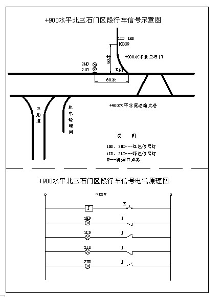 四线制道岔控制电路