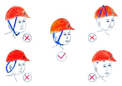 请正确佩戴安全帽-中国煤矿安全生产网
