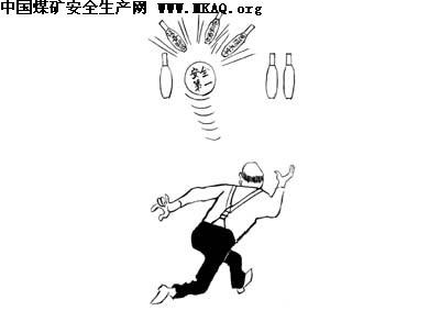安全漫画手绘图片