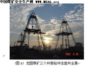煤矿井筒大直径钻井法凿井技术