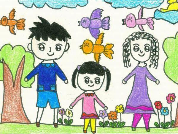 儿童画 卡通 漫画