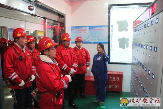 陕煤股份检查韩家湾煤炭公司安全生产工作