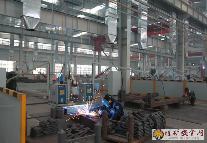 山东能源枣矿鲁南装备公司采用通风除尘系统 关注职工身心健康Ecab