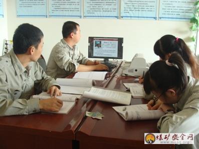 原料车间掀起向李安喜同志学习的热潮-中国煤