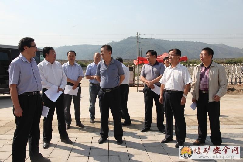 省统计局副局长张晓光到小庄矿调研考察