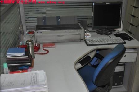 办公桌5s定置定位图; 铜川矿业玉华煤矿试点推行办公室定置管理-中国图片